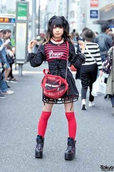Gothic Harajuku Fashion & Corset