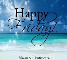 Happy Friday!                                                                                                                                                                                 More