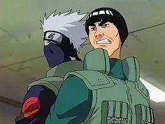 Gai and Kakashi