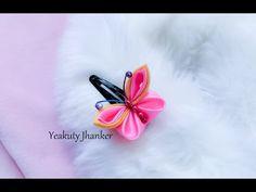 Цветы на детской повязке / Видео мастер класс / Kanzashi by Kulikova - YouTube
