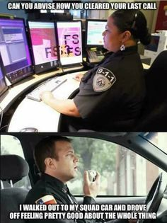 I am waiting for one of our sarcastic units to do this to this to me while i am on the radio...