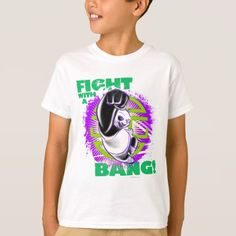 Fight with a Bang T-Shirt - click/tap to personalize and buy Cartoon T Shirts, Kung Fu Panda, Bangs, Fitness Models, Unisex, Casual, Sleeves, Mens Tops, Cotton