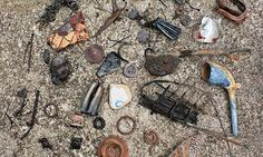 Only the south side of the Thames is open to the general public for beachcombing, but if you want to scrape or dig you will need a licence from the PLA. Description from theguardian.com. I searched for this on bing.com/images