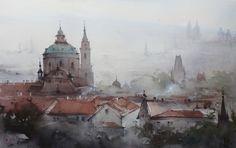 Ilya Ibryaev / Илья Ибряев, 1955 | Watercolour painter | Tutt'Art@ | Pittura • Scultura • Poesia • Musica