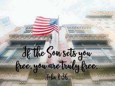 Christin Ditchfield is a Christian author, speaker, and radio host calling women to a deeper life ~ a life of faith, a life of passion and purpose. Happy 4 Of July, 4th Of July, Bible Verses, Inspirational Scriptures, Deeper Life, John 8, Family Picnic, Set You Free, Knowing God