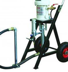 Pompa Airless pneumatica a pistone inox WIN281 28:1 - G.B.V.   Airless / Airless pump pneumatic piston steel WIN281 28: 1