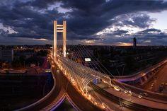 Bucharest by night! Bucharest, Our World, Golden Gate Bridge, Romania, Fair Grounds, Skyline, Europe, Country, Night