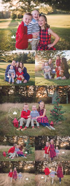 Outdoor Family Holiday Portraits at Quidnesset Country Club in Rhode Island Blog | Heidi Hope Photography