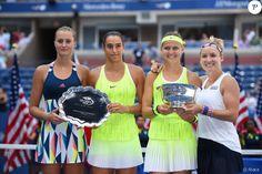 Kristina Mladenovic et Caroline Garcia se sont inclinées contre Bethanie…