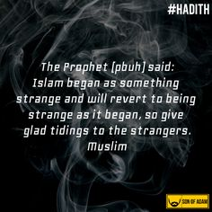 Strangers!  Read more about this Hadith : http://islamqa.info/en/45855