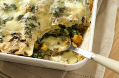 Stilton lasagne