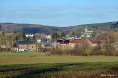 Vue sur le village de Strud