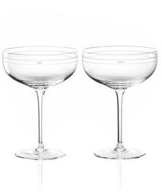 kate spade new york Darling Point Champagne Saucer Pair | ok these are perfect @diannepieterse