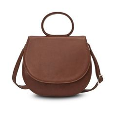 GRETCHEN Ebony Loop Bag - Cinnamon Brown