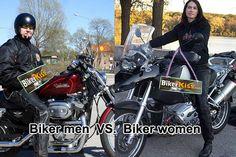 Biker Dating, Lady Biker, Man Vs, Motorcycle, Women, Motorcycles, Motorbikes, Choppers, Woman
