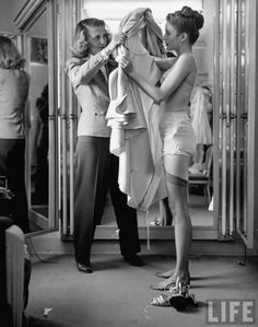 Modeling agency,1950s