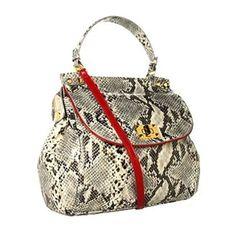 Jessica Simpson Natalie Python bag! $99