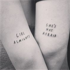 A most thorough guide on Best friend tattoos (BFF tattoos). They make a memorable gift which two friends can give to each other. Lyric Tattoos, Dream Tattoos, Sister Tattoos, Future Tattoos, Girl Tattoos, Tatoos, Arrow Tattoos, Ankle Tattoos, Small Best Friend Tattoos
