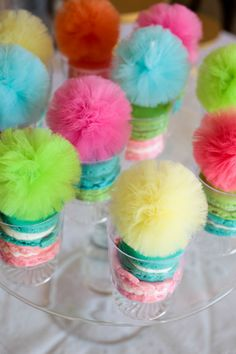 TiTi's TuTu's Poms styled by Lydia from The Party-Wagon  www.titistutus.etsy.com