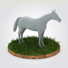 Max Horse - 3D Model