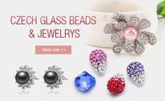 Czech Glass Beads & Jewelrys