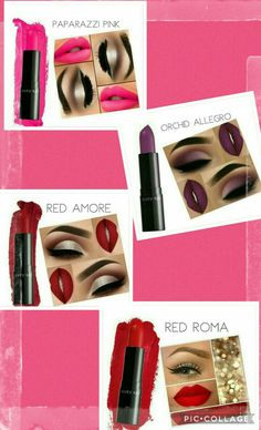 Tu look! Cual prefieres? Mary Kay Brasil, Pink Orchids, Hair Makeup, Lipstick, Make Up, Outfits, Mary Kay Makeup, Mary Kay Products, Lipsticks