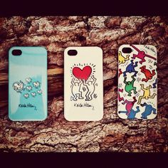 Keith Harring iPhone cases