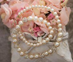 Pearl necklace bridesmaid gift bridesmaid by asteriasbridal