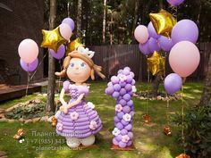 Принцесса София из воздушных шаров