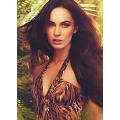The Megan Fox Avon Instinct Images and Video - BEAUTYGEEKS ❤ liked on Polyvore featuring megan fox and megan