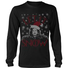 Let It Snow - Ugly Sweater LIMITED EDITION