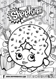 shopkin coloring pages                                                                                                                                                                                 More