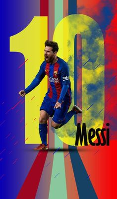 messi is great wallpaper by - 82 - Free on ZEDGE™ Lionel Messi Wallpapers, Cristiano Ronaldo Wallpapers, Messi And Ronaldo, Messi 10, Pique Barcelona, Goat Football, Fc Barcelona Wallpapers, Argentina National Team, Messi Photos