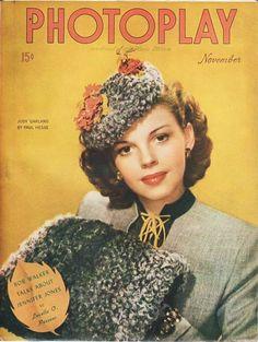 Judy Garland - Photoplay, Nov,  1944.