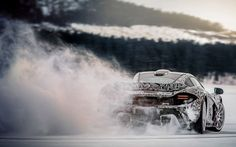 Video Find: McLaren P1 Sliding on Ice in Slow Motion - WOT on Motor Trend