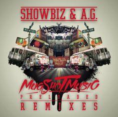 Showbiz & A.G. Mugshot Music preloaded remixes Album cover