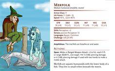 Dungeons And Dragons Homebrew, Merfolk, Fantasy Creatures, Beast, Memes, Monsters, Fictional Characters, Meme, Jokes