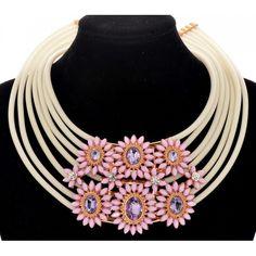 Crochet Necklace, Plastic, Jewelry, Fashion, Moda, Jewlery, Crochet Collar, Bijoux, Fashion Styles