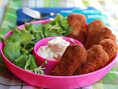 Nuggets de Pollo con crujiente