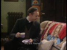 """When the boring priest met Jesus. 