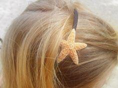 Items similar to The Original Sugar Starfish Headband on Etsy Spring Sale, Beach Hair, Crafts To Do, Hair Band, Starfish, Hair Makeup, Hair Accessories, Make Up, The Originals