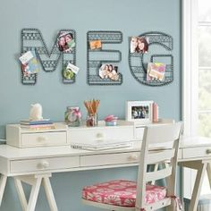 pottery barn teen wire wall letter black iron y shopstyle decor