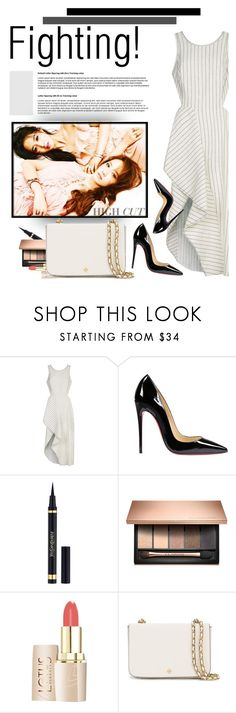 """""""Untitled #1579"""" by anarita11 ❤ liked on Polyvore featuring 3.1 Phillip Lim, Christian Louboutin, Yves Saint Laurent and Tory Burch"""