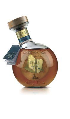 Maiden Voyage Single Malt Irish Whiskey #packaging #tag #label