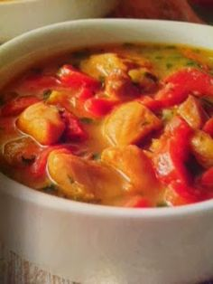 Easy crockpot recipes: Coconut Curry Chicken Stew Crockpot Recipe