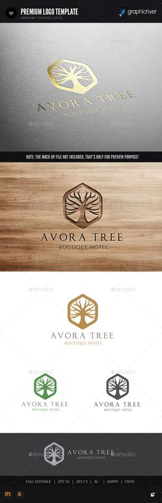 Tree Logo - Crests Logo Templates