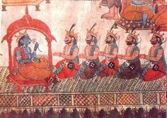 As his brother is blind and unfit for the throne, Pandu becomes the new king of Hastinapura.