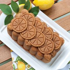 Lemon Citrus Pound Cake |Nordic Ware