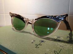 1950's Cat Eye Sunglasses by TripletVintage on Etsy, $85.00