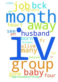 Iv been away from the prayer group - Iv been away from the prayer group page...iv gone with so many problems...as iv gvn my prayer request way bck 6 months ago for my husband who left me with a four month pregnancy n 1yr n half month baby..now my husband has return bck to us,..I thank God fr it but in the midst I lost my baby inside womb I cldnt see my baby born alive m vry heart broken,..I ask n prayed for a job from so many years but no job as yet m so depressed...everthing just went wrong…